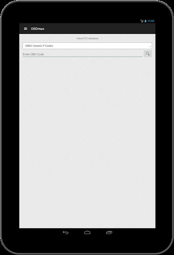 OBD2 scanner & fault codes description: OBDmax  screenshots 6