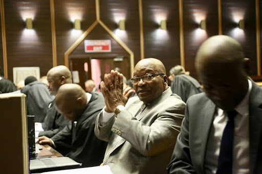 Zuma's lawyers fight to introduce Abrahams letter into record