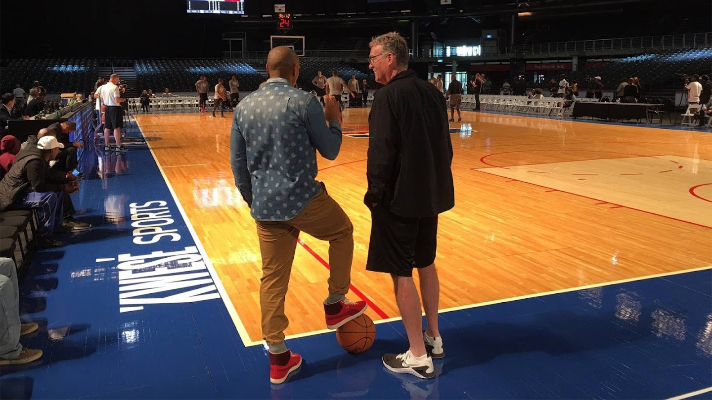 Watch The Conversation: Thierry Henry & Larry Bird live