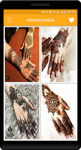 Latest Mehndi Design Images for Full Hand and Legs - náhled