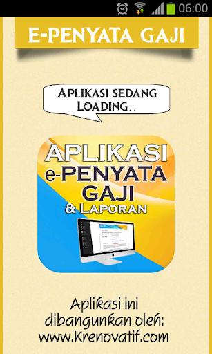 ePenyata Gaji Online ANM