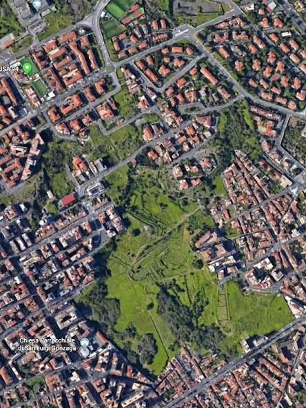 foto aerea Orti di Cibali