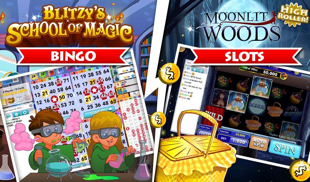 google play bingo blitz