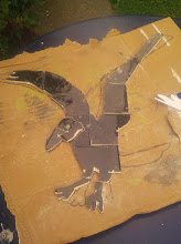 Photo: Crow cut out
