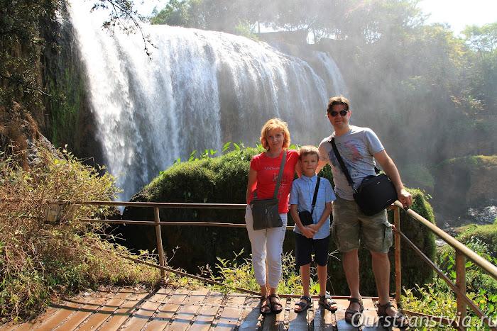 Слоновий водопад, Далат