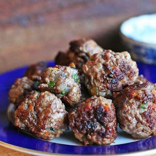 Greek Meatballs.