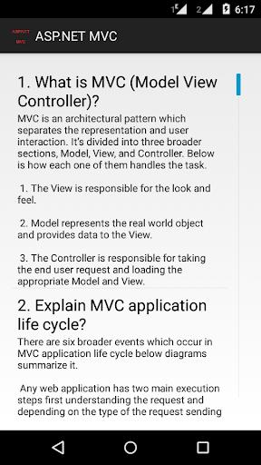 ASP.NET MVC INTERVIEW QUESTION