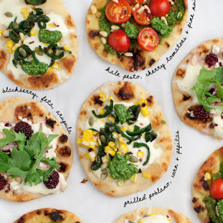 Mix & Match Mini Pizzas
