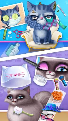 Cat Hair Salon Birthday Party - Virtual Kitty Care 6.0.20 screenshots 5