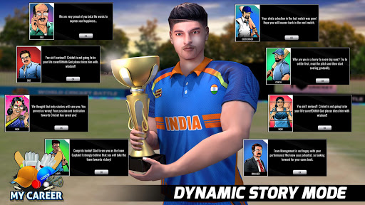 World Cricket Battle - Multiplayer & My Career  captures d'écran 2