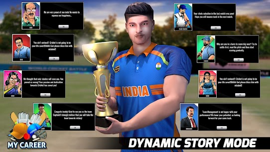 World Cricket Battle 2 (WCB2) – Multiple Careers App Download For Android and iPhone 3