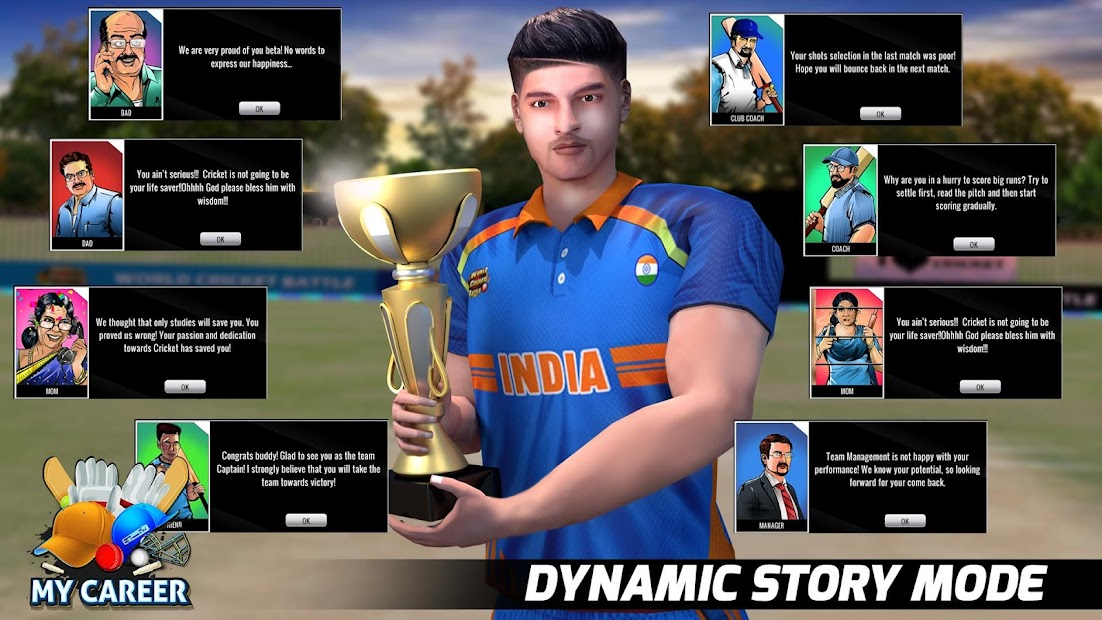 World Cricket Battle MOD (Unlimited Money) 3