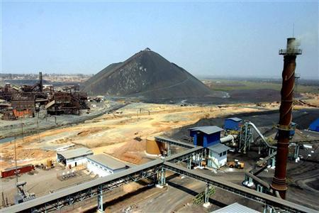 A file photo shows the Gecamines copper and cobalt processing plant in Lubumbashi, Democratic Republic of Congo. Picture: SUPPLIED