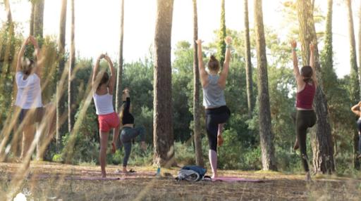 cours de yoga avec Sophia