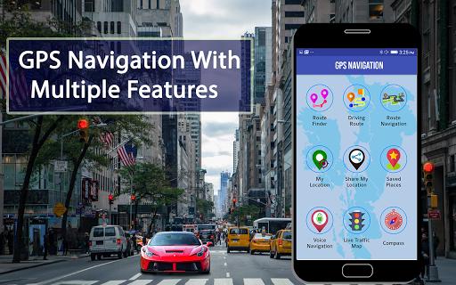 GPS Map Route Traffic Navigation 1.2 Screenshots 3