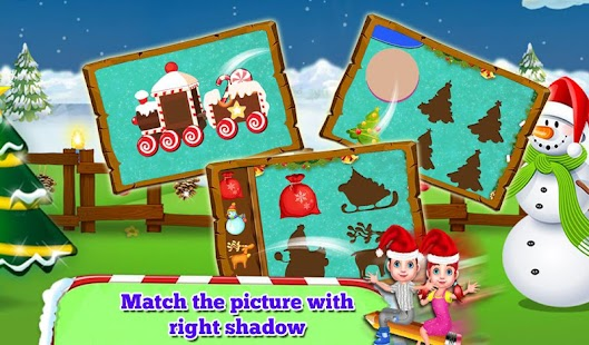Connect The Dots: Christmas Educational Kids Game- screenshot thumbnail