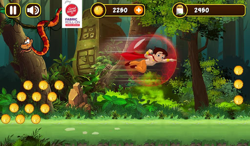 Chhota Bheem Jungle Run  captures d'écran 6