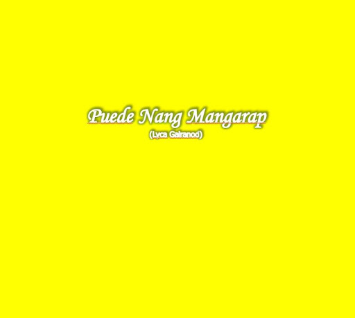 Puede Nang Mangarap
