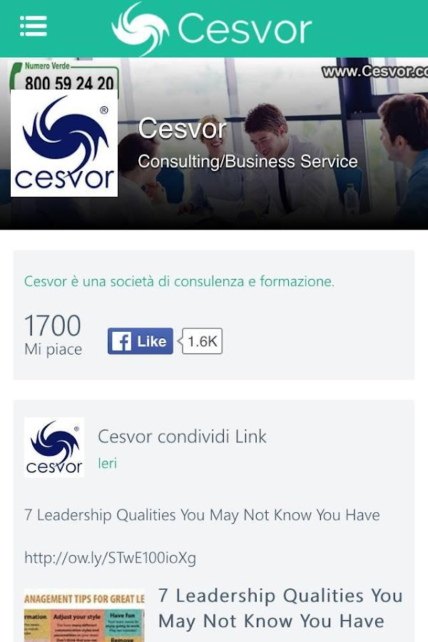 Cesvor- screenshot