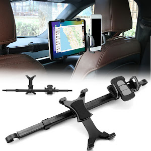 Suport auto tetiera dual telefon si tableta - Imount Hodler