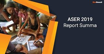 ASER 2019 Report Summary