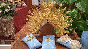 El nuevo ajuar de María Santísima de los Ángeles.