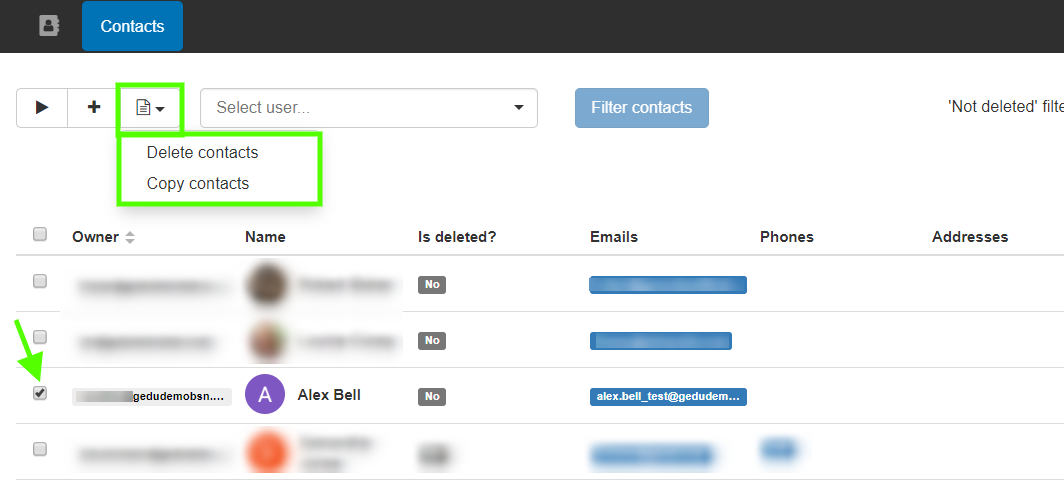 GAT+: Google Contacts Management 4