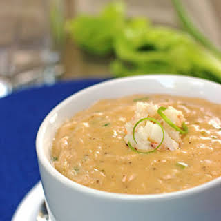 Hearty and Creamy Crab Bisque.