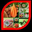 Frutta e verdura intaglio icon