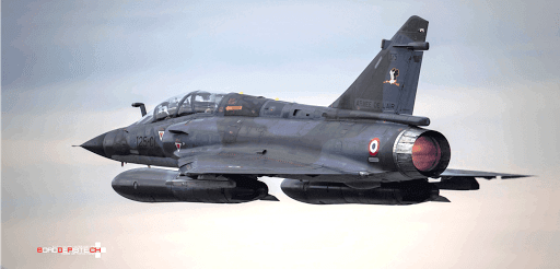 Mirage 2000N FAS Armée de l'air barnstormer polo made in france