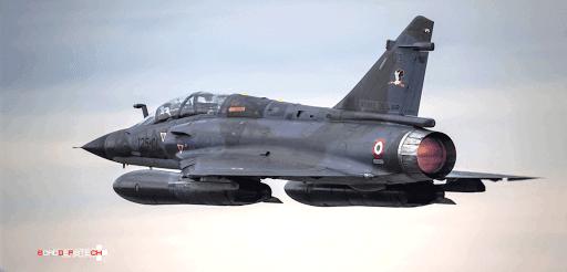 Mirage 2000N FAS Armée de l'air barnstormer polo made in france