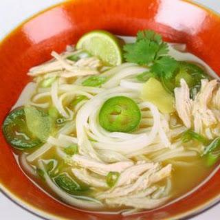 Leftover Thai Chicken Soup.
