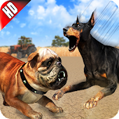 Angry Dog Fighting Hero: Wild Street Dogs Attack