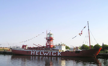 Photo: Cardiff Bay The old light ship