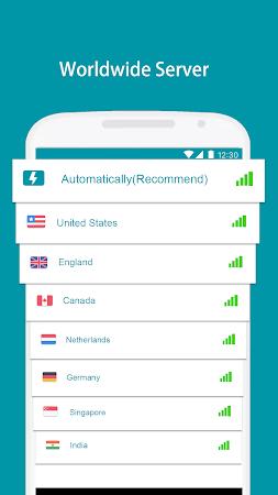 Thunder VPN - A Fast , Unlimited, Free VPN Proxy 2.4.3 screenshot 2092875