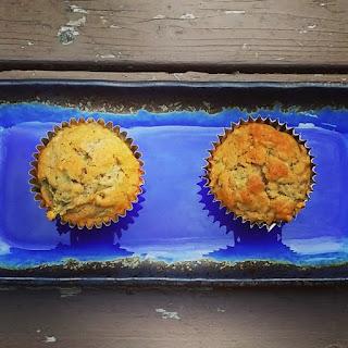 Olive Oil Zucchini Muffins