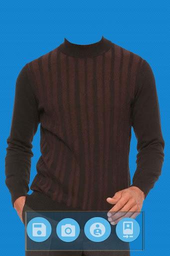 Men Sweater Photo Editor