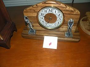 Photo: Tim's 3rd place golfers clock