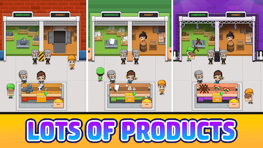 Idle Factory Tycoon MOD Apk 2.3.0 (Unlimited Coins) 3
