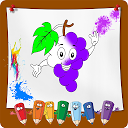 Fruit and Vegetables Coloring Book 1.0 APK Download