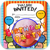Birthday Invitation with Photo