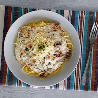 Olive Garden Spaghetti Carbonara.
