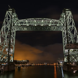 Rotterdam by Nick Vanderperre - City,  Street & Park  Night ( 2018, rotterdam )
