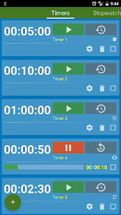 Multi Timer and Stopwatch- screenshot thumbnail