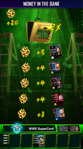 WWE SuperCard - Multiplayer Collector Card Game screenshot 7
