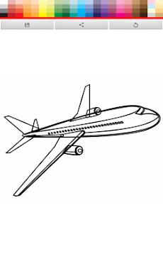 飛行機ぬりえ Androidアプリ Applion