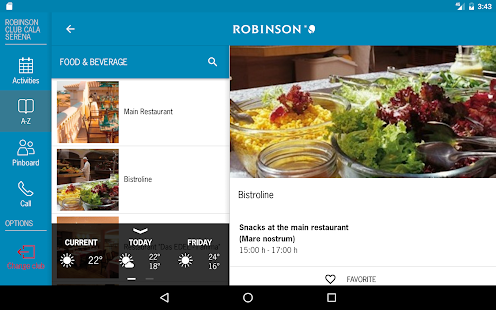 ROBINSON App- screenshot thumbnail