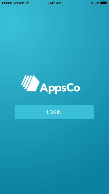 Appsco Dashboard- screenshot