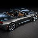 Fonds avec Chevrolet Corvette icon
