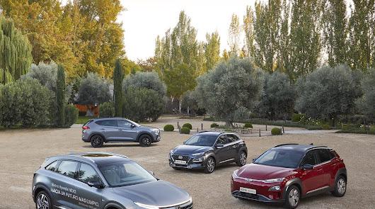 Almerialva y los  SUV de Hyundai:  con seis sistemas de propulsión diferentes